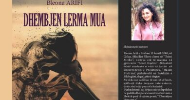 Bleona Arifi: 'Dhembjen lerma mua'